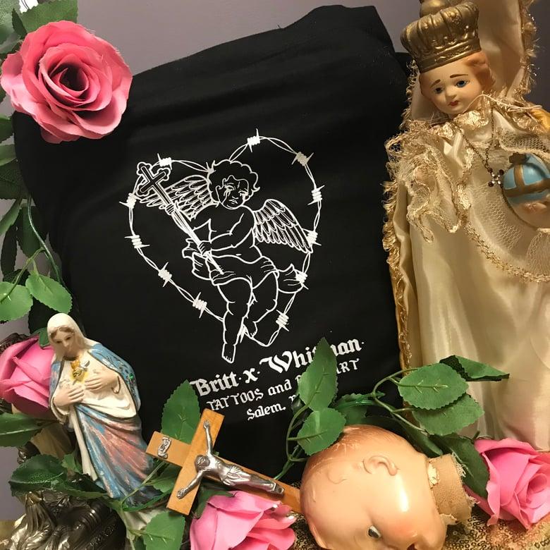 Image of Britt Whitman Cherub Tote Bags