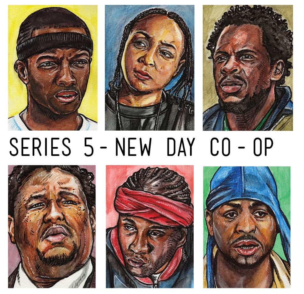 Image of Wire Series 5 - New Day Co-op - Limited Edition Art Cards