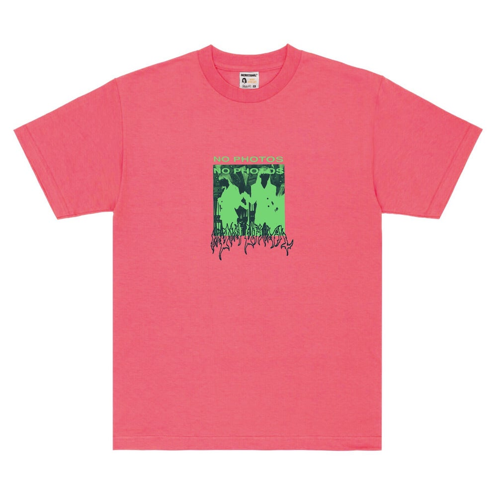 Image of NO PHOTO TEE (CORAL)