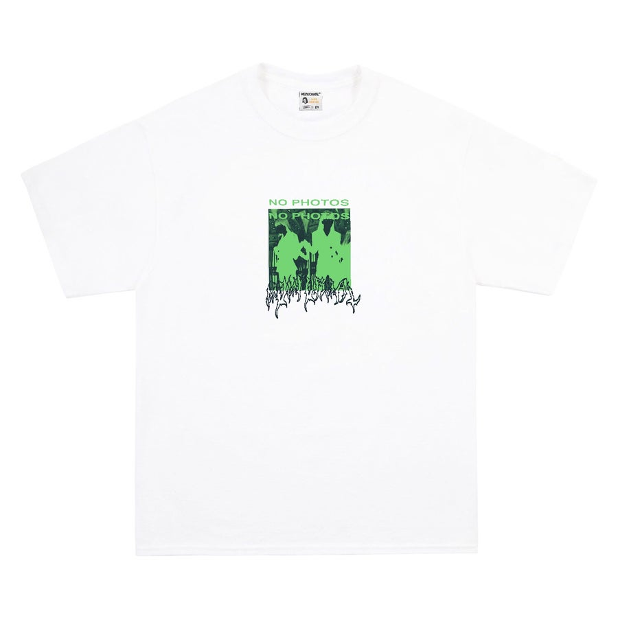 Image of NO PHOTO TEE (WHITE)