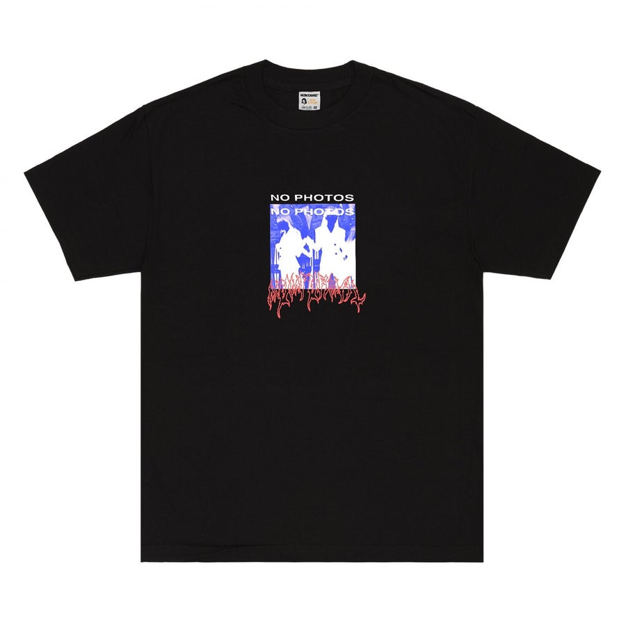 Image of NO PHOTO TEE (BLACK)