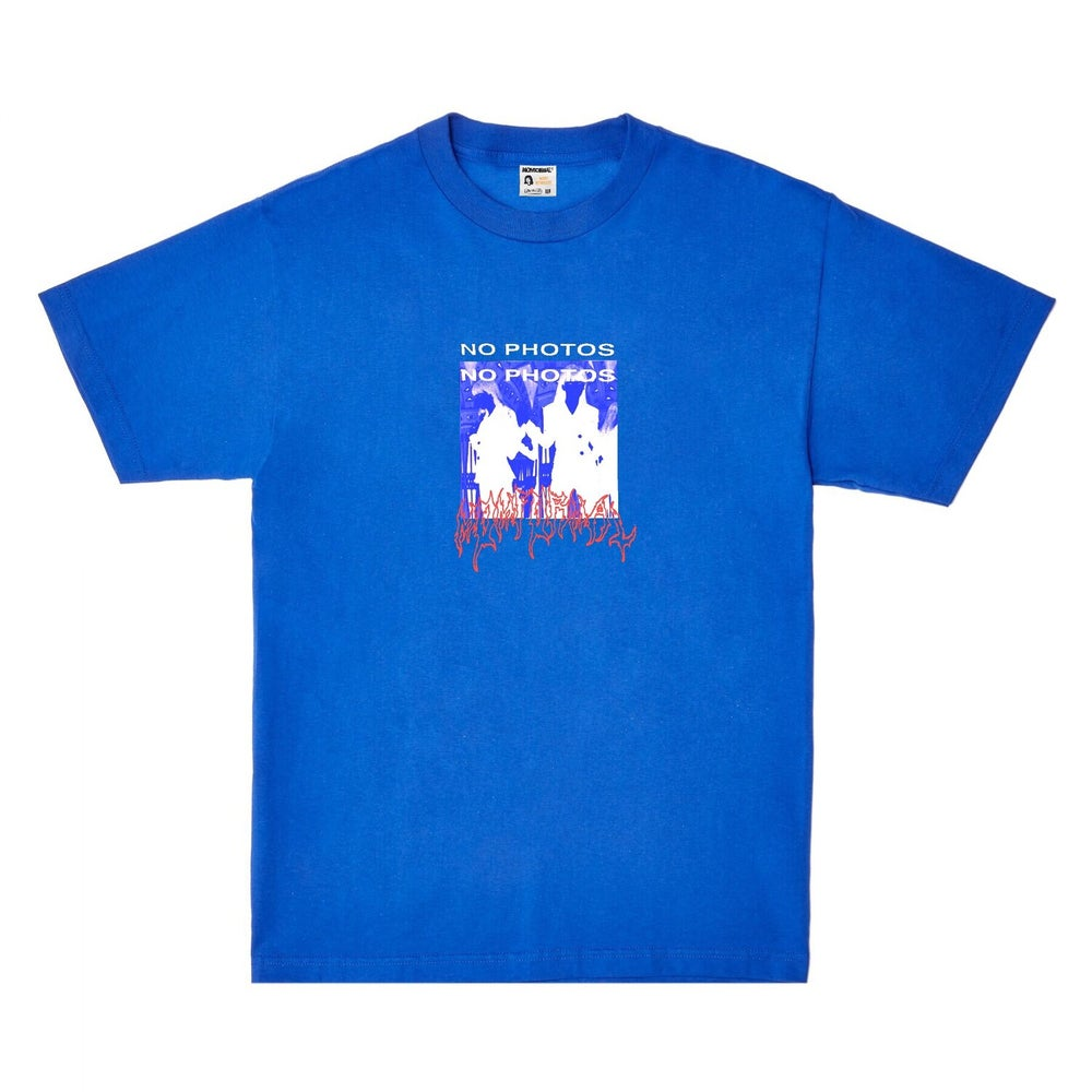 Image of NO PHOTO TEE (BLUE)