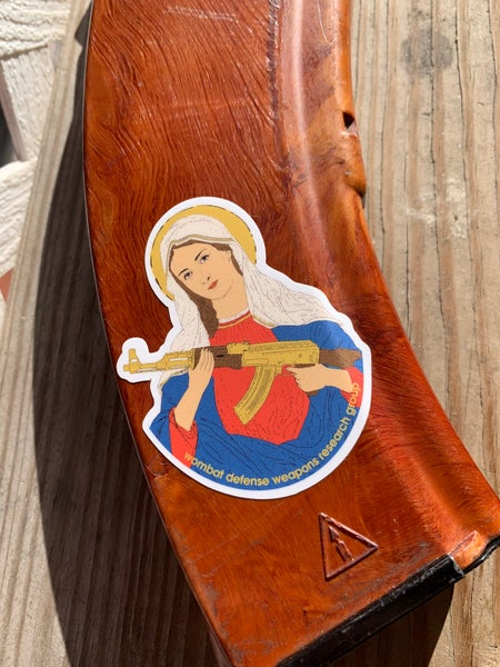 Image of Our Lady Mag Stickers (3-pack)
