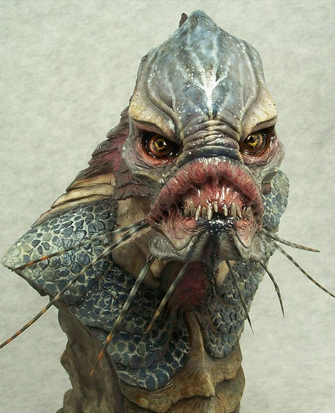 Image of Casey Love Creature Resin Bust (Fully Painted & Model Kit)
