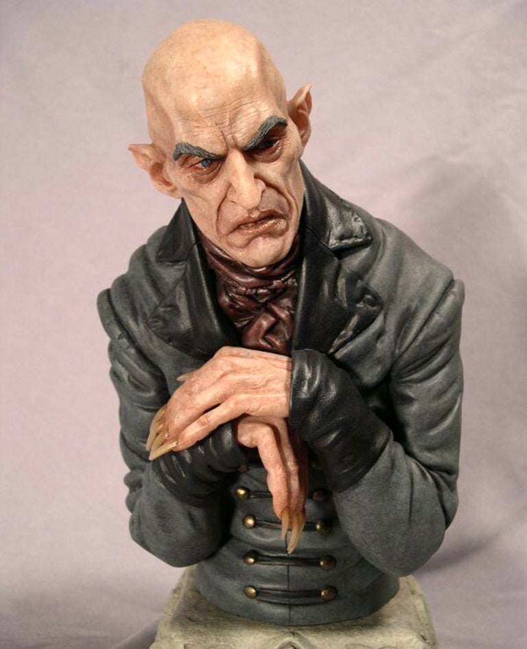 Image of Shadow of the Vampire Nosferatu Resin Bust (Fully Painted & Model Kit)