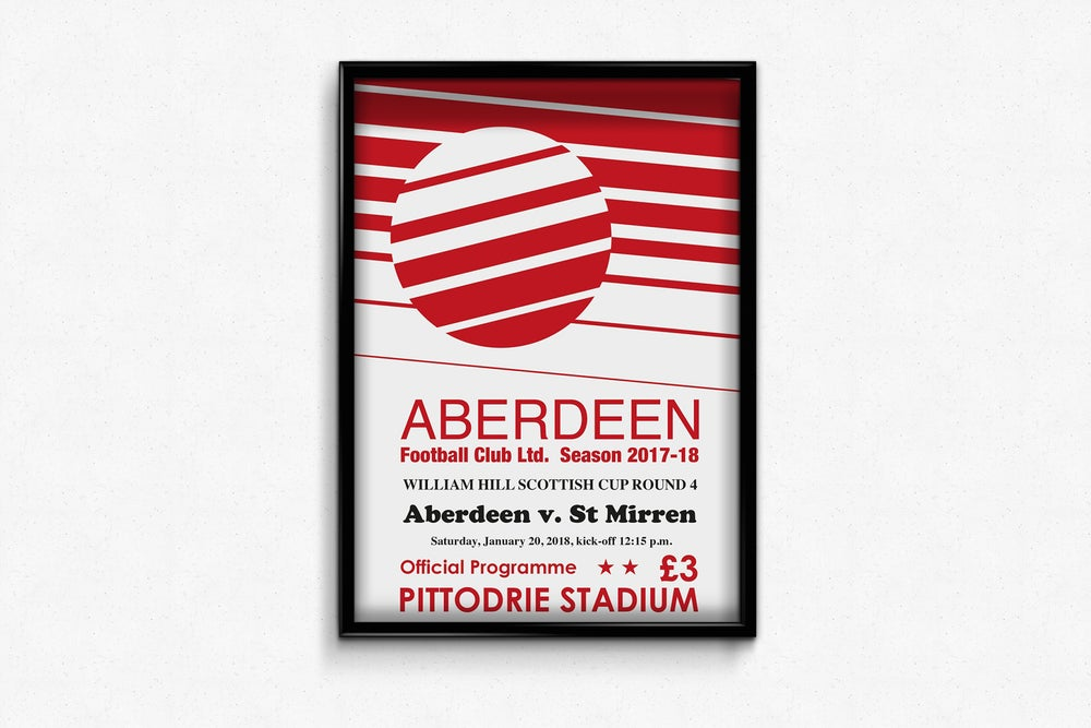 Image of Ltd Ed: Aberdeen v St Mirren