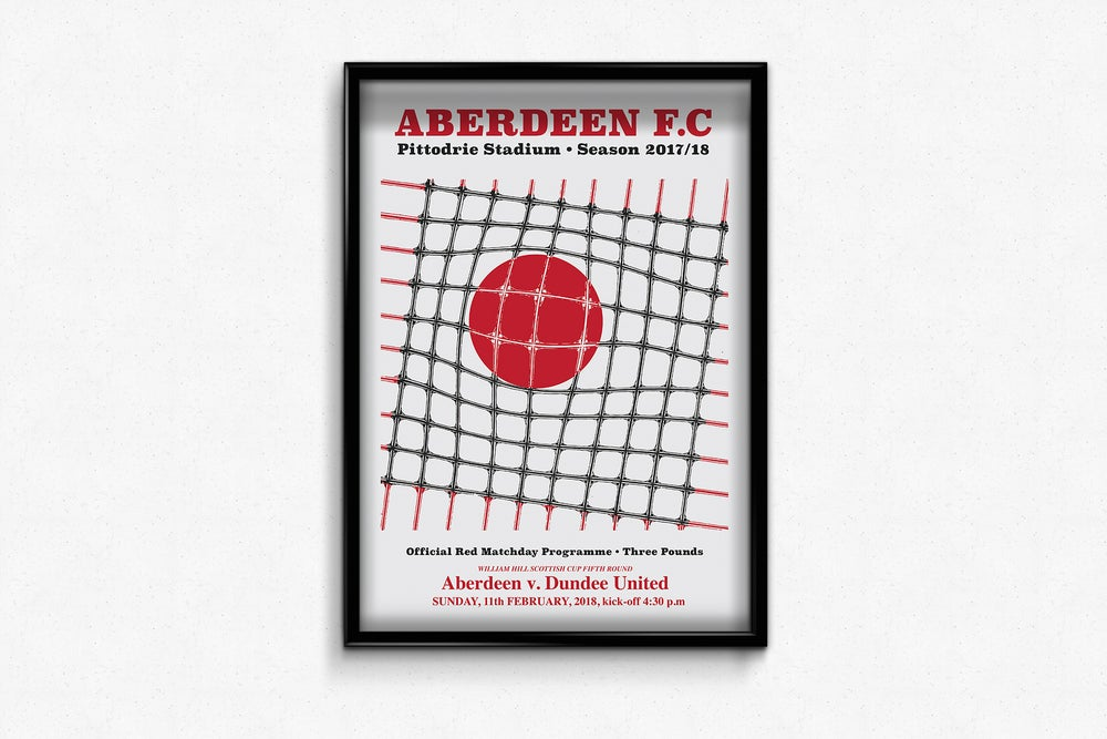 Image of Ltd Ed: Aberdeen v Dundee United