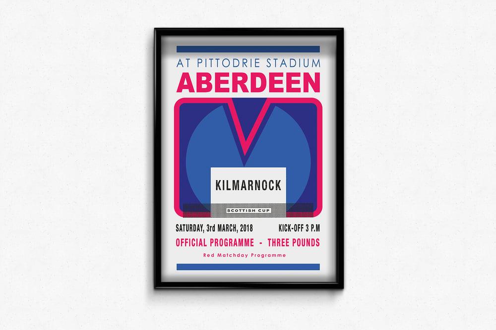 Image of Ltd Ed: Aberdeen v Kilmarnock