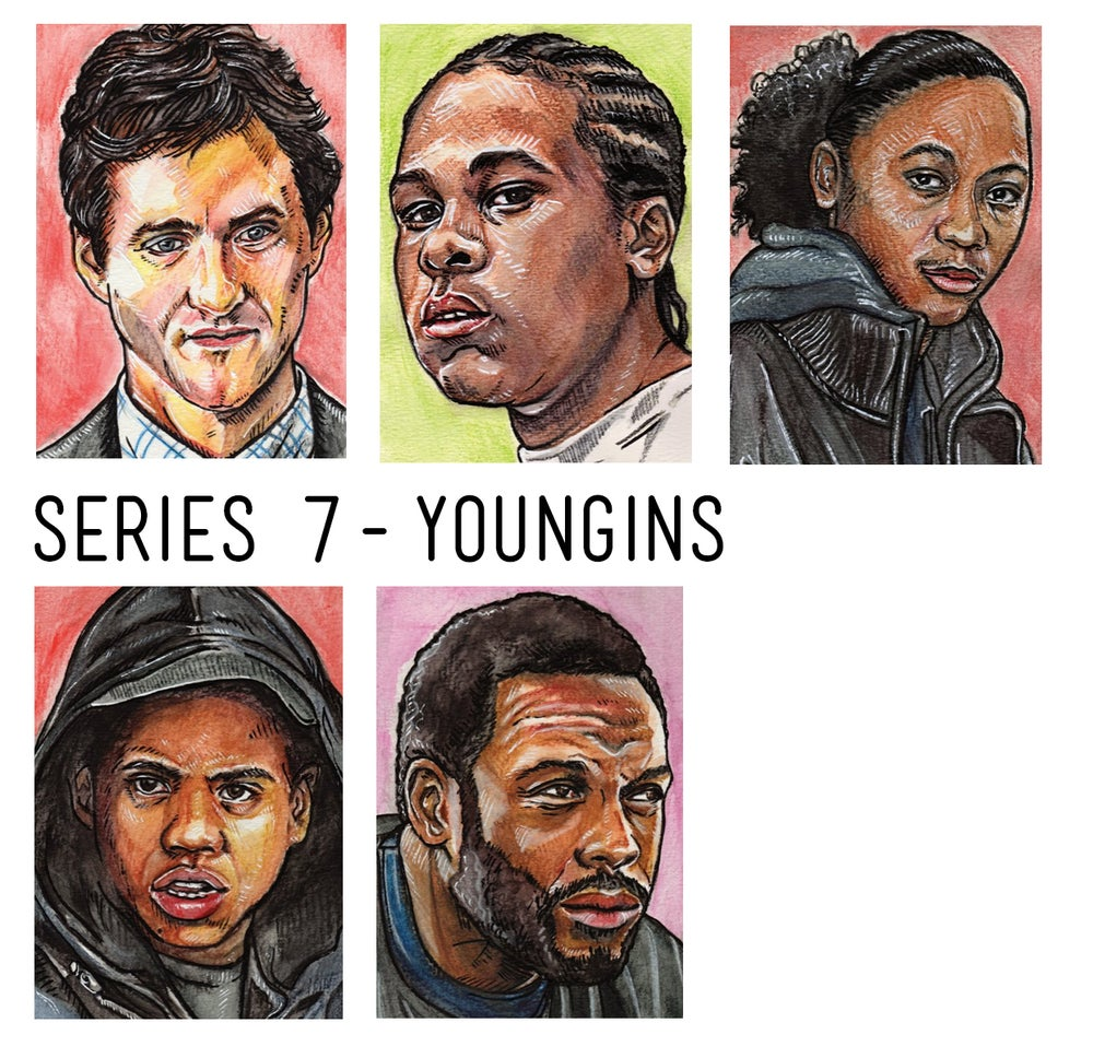 Image of Wire Series 7 - Youngins - Limited Edition Art Cards