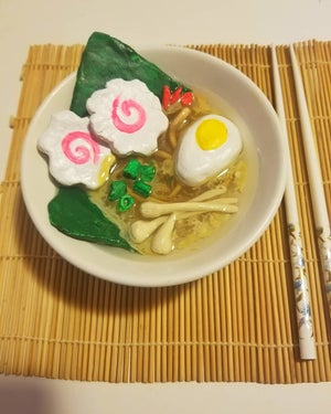 Image of Ramen Bowl Sculpture