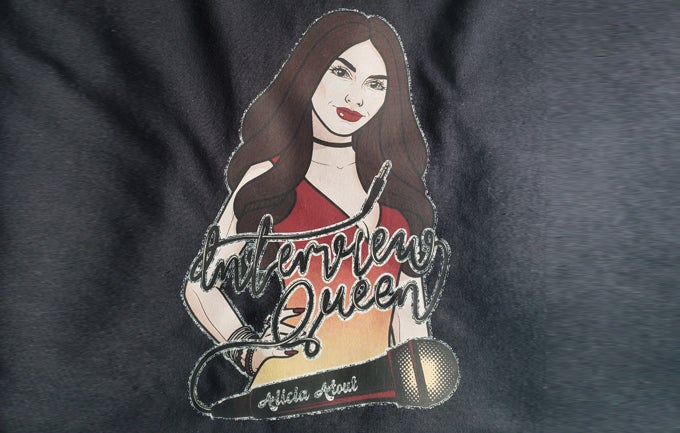 Image of Vintage Cartoon Interview Queen Shirt