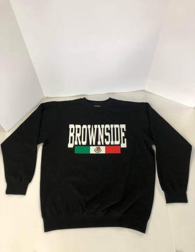 Image of BROWNSIDE LOGO CREWNECK