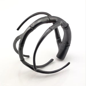 Image of Black Tendril Rollin' Branch Bangle Bracelet