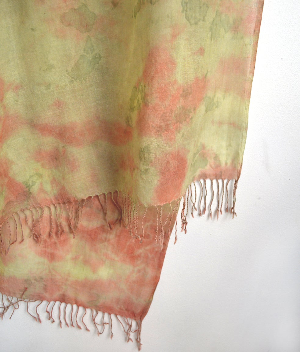 Image of feather weight cashmere shawl