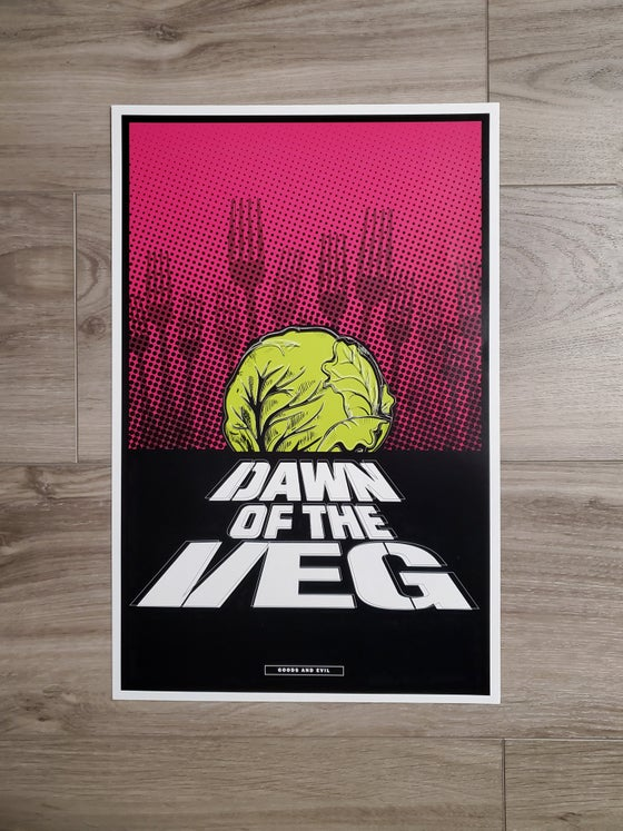 Image of Dawn of the Veg poster