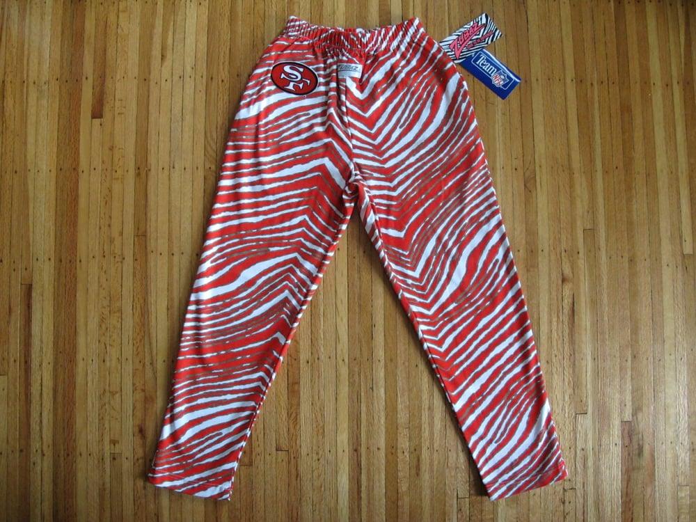 Image of Vintage San Francisco 49ers Kid's / Women's ZUBAZ Pants