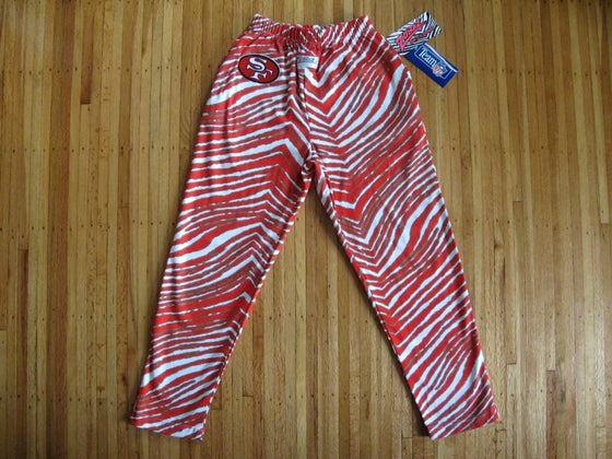 Image of Vintage San Francisco 49ers Kid's / Women's ZUBAZ Pants