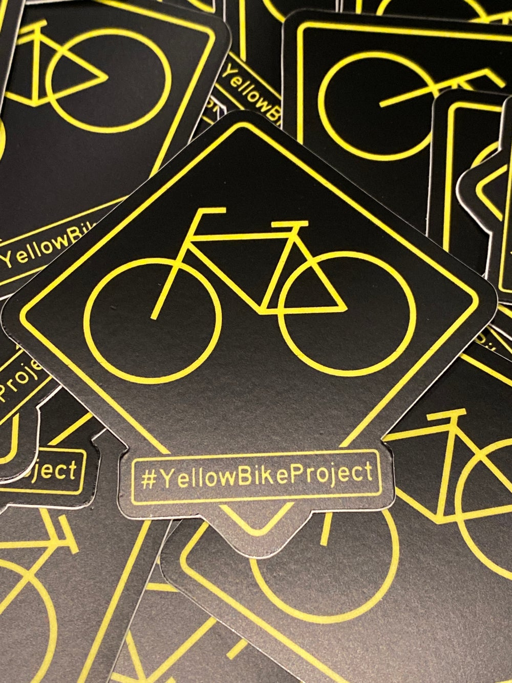 Image of Yellow Bike Project Stickers
