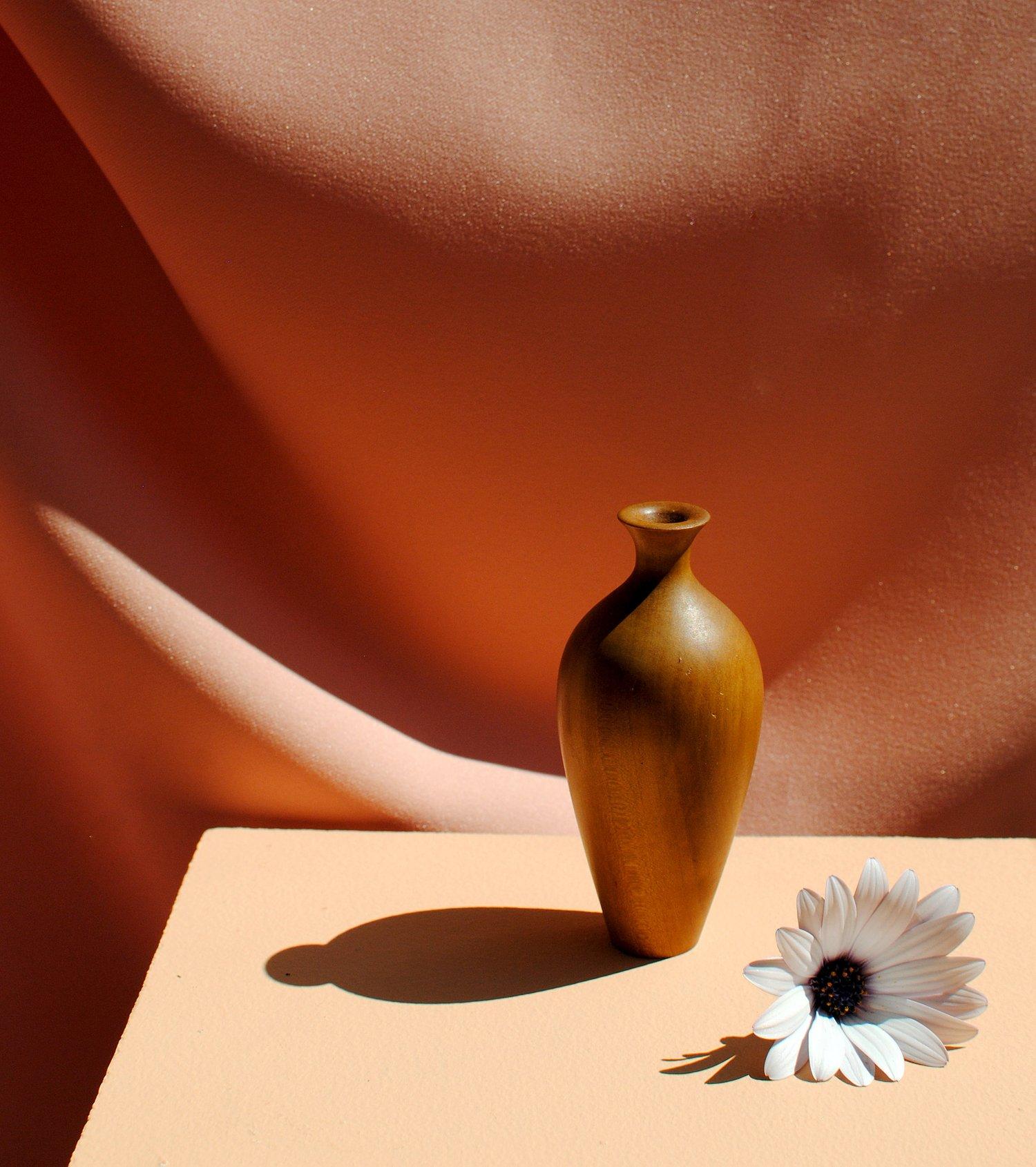 Image of Classical miniature pear tree bud vase