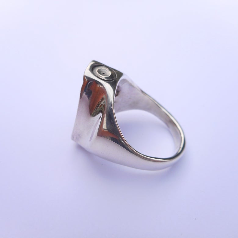 Image of 925 Silver skinny cap ring