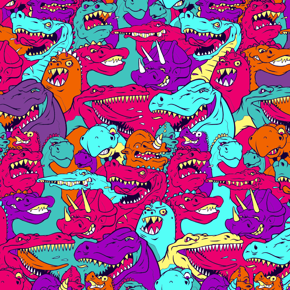 Image of Dinos Pattern