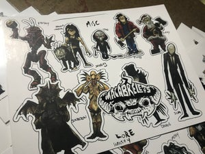 Macabrelets sticker packs