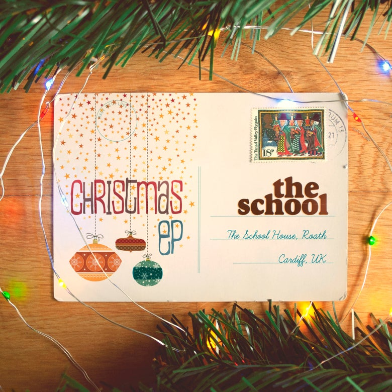 Image of THE SCHOOL 'Christmas EP' (Limited Christmas Card signed with EP download)