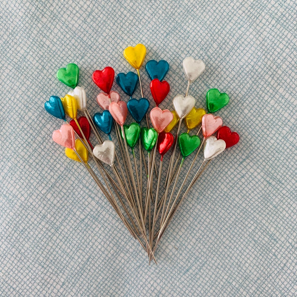 Image of Love Heart Pins