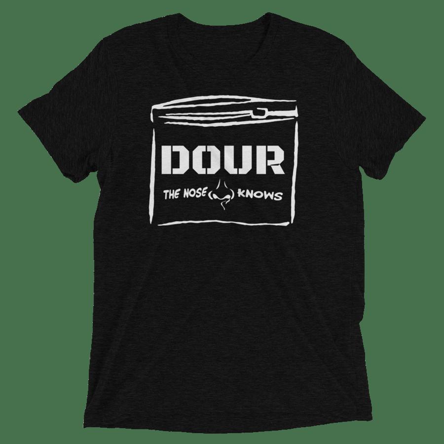Image of Premium Tri-Blend DOUR ZipLock T-shirt