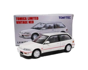 Image of Rare EF9 Sir II Honda Civic Tomica 1/64 Limited Vintage Model Car