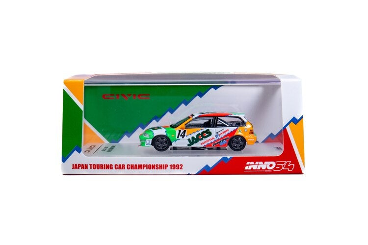Image of   JDM EF9 GRADE A *** EXTREMELY DETAILED! *** JACCS THEME 1990-1991 Die-cast