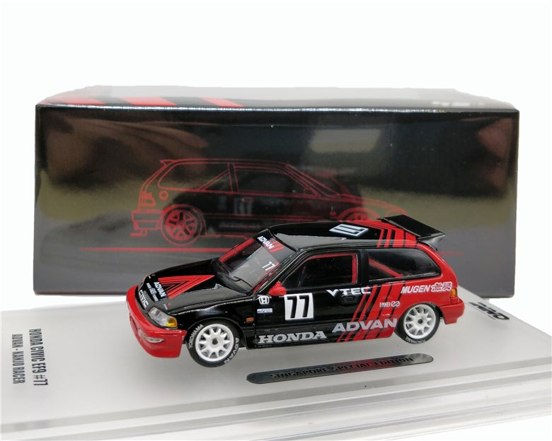 Image of ADVAN Singapore KANJO RACER LIMITED EDITION *** JDM EF9 *** EXTREMELY DETAILED! ***