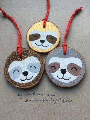 Image of Sloth Decorations