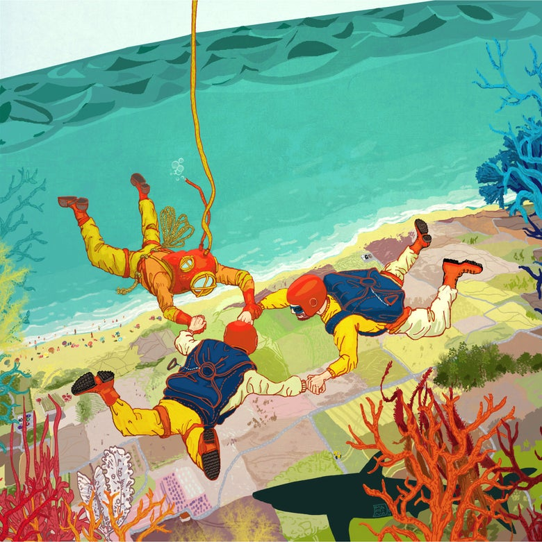 Image of Two-way Diving, by Marina Cochet