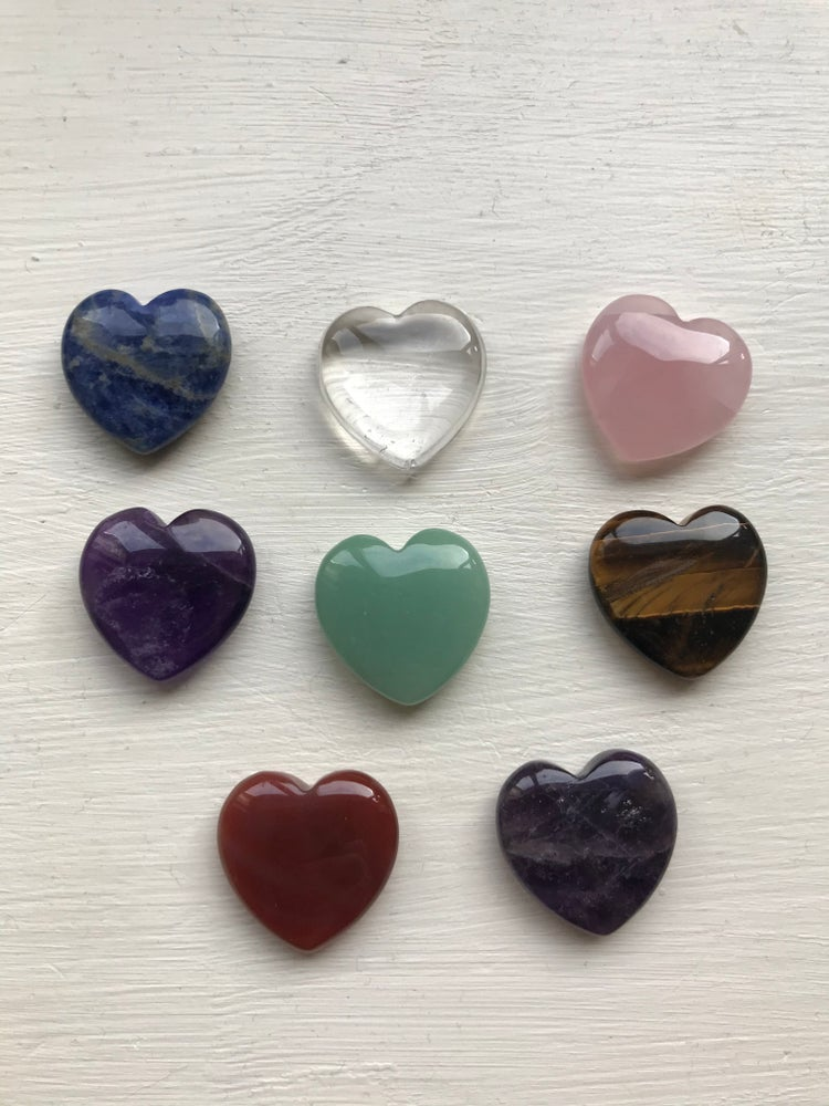 Image of Mini Crystal Hearts