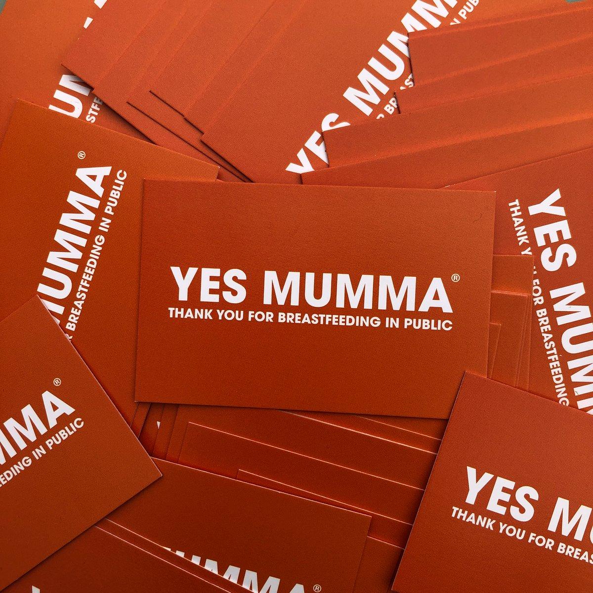 Image of YES MUMMA ® BREASTFEEDING CARDS (FREE CARDS PLUS P&P)