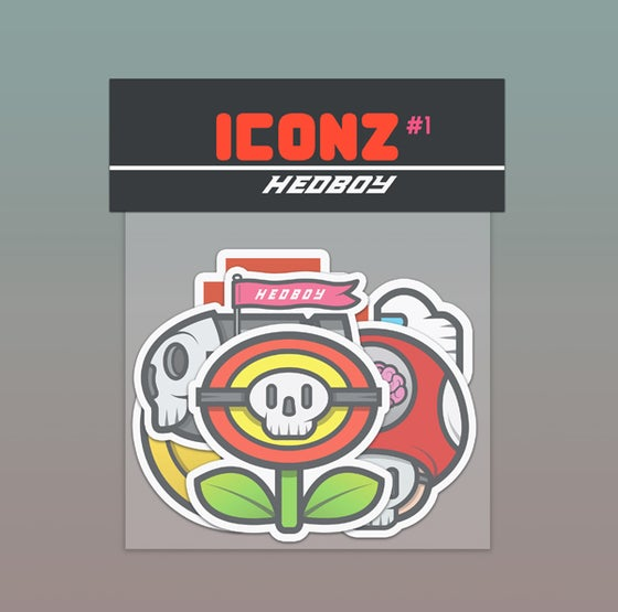 Image of ICONZ #1 STICKER PACK!