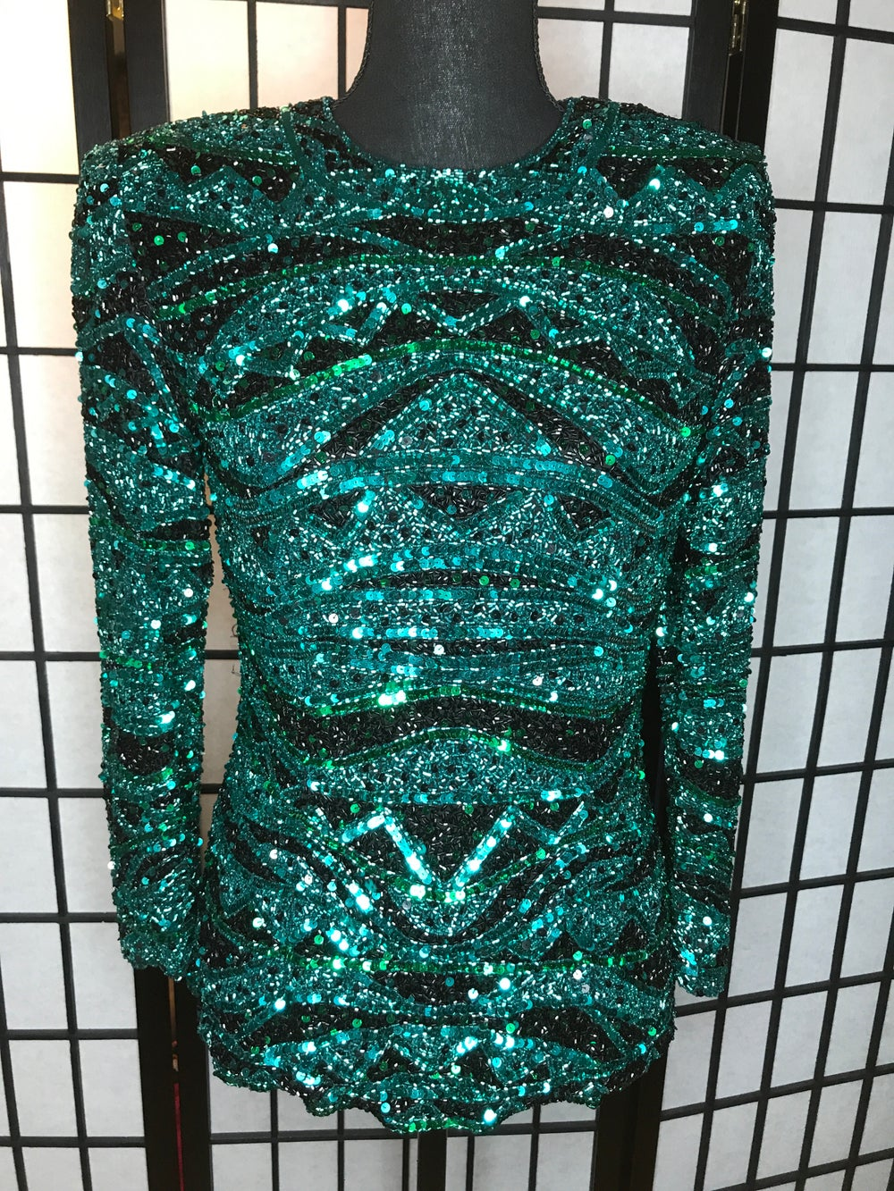 Image of Emily Sequin Top (Size S)