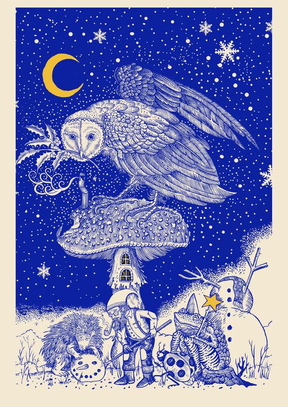 """Image of """"The storyteller"""" print"""