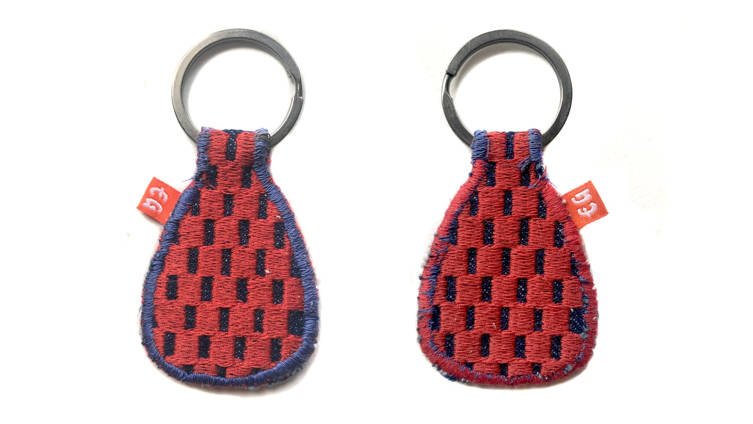 Image of Checker Keychain