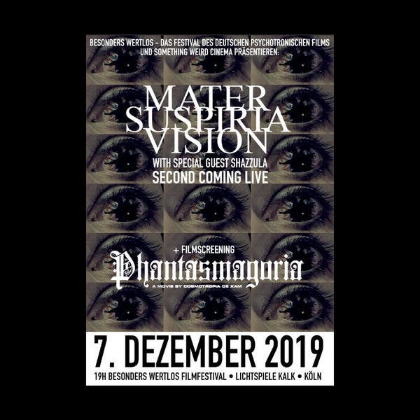 Image of [LIMITED 50] Mater Suspiria Vision - Second Coming Festival Poster