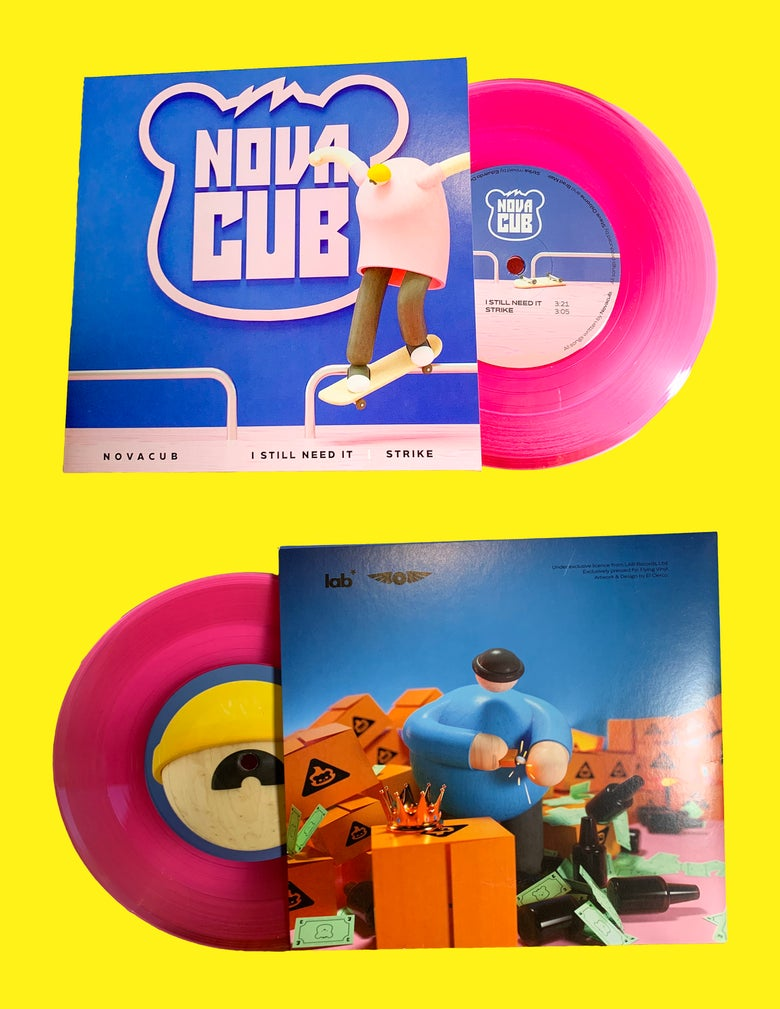 "Image of LIMITED EDITION: I STILL NEED IT / STRIKE - 7"" Pink Vinyl"