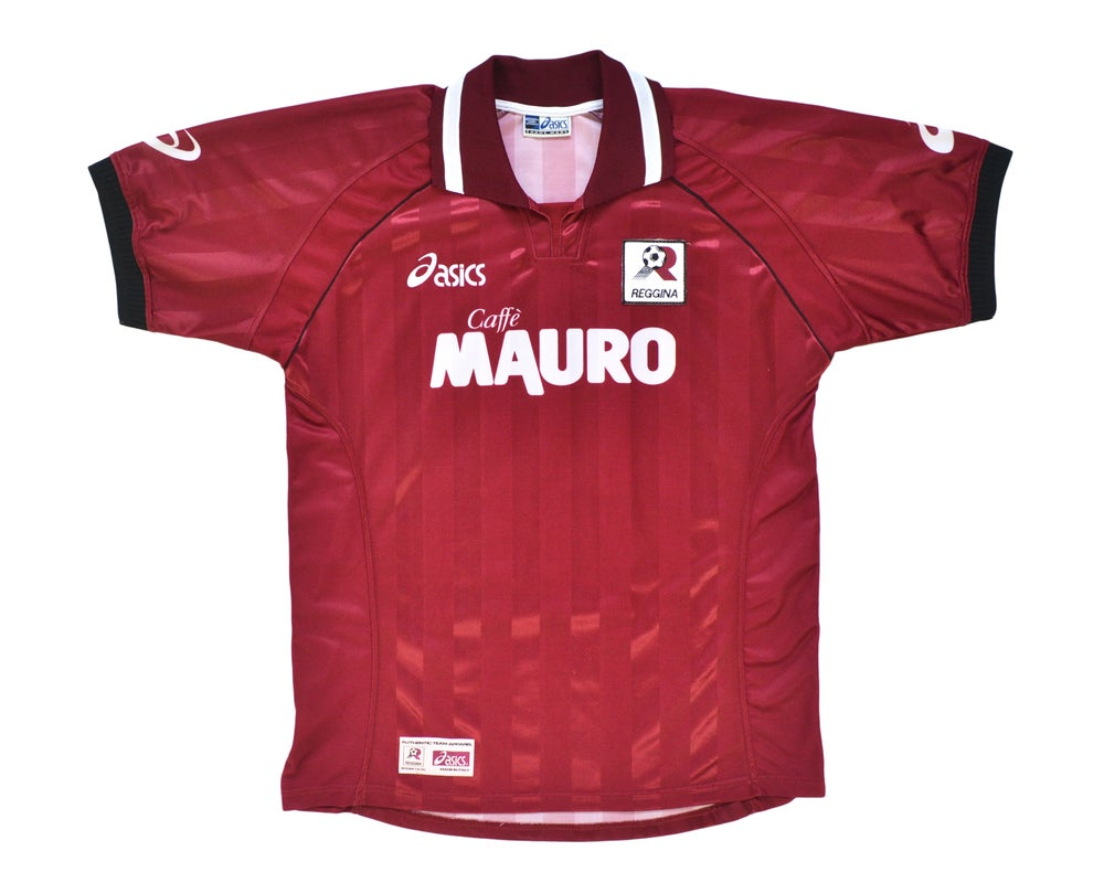 Image of 2002-03 Asics Reggina Home Shirt 'Nakamora 10' XL