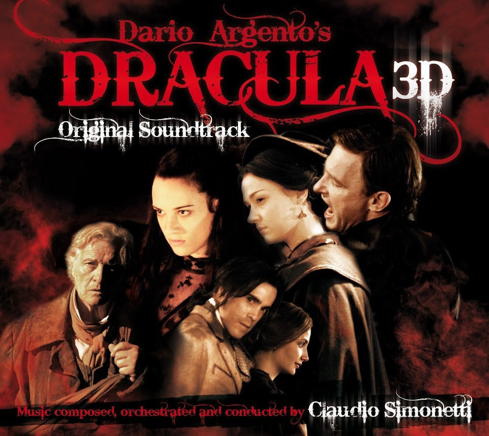 Image of DRACULA 3D CD + SIMONETTI HORROR PROJECT DVD
