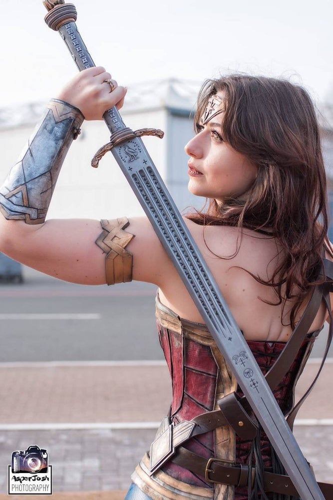 Image of Wonder Woman Sword of Athena FINISHED kit
