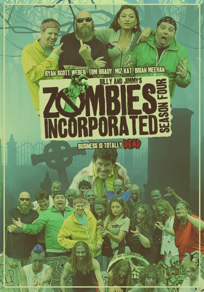 Zombies Incorporated Season 4 DVD