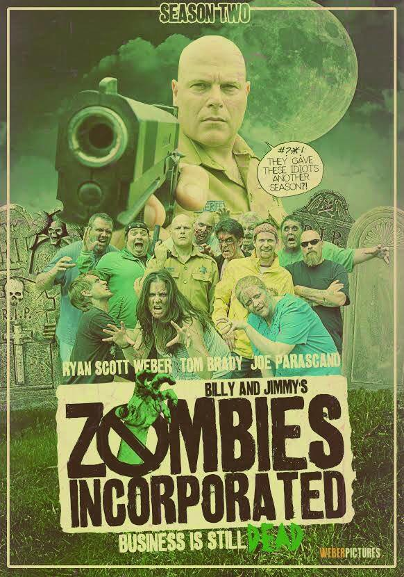 Zombies Incorporated Season Two DVD