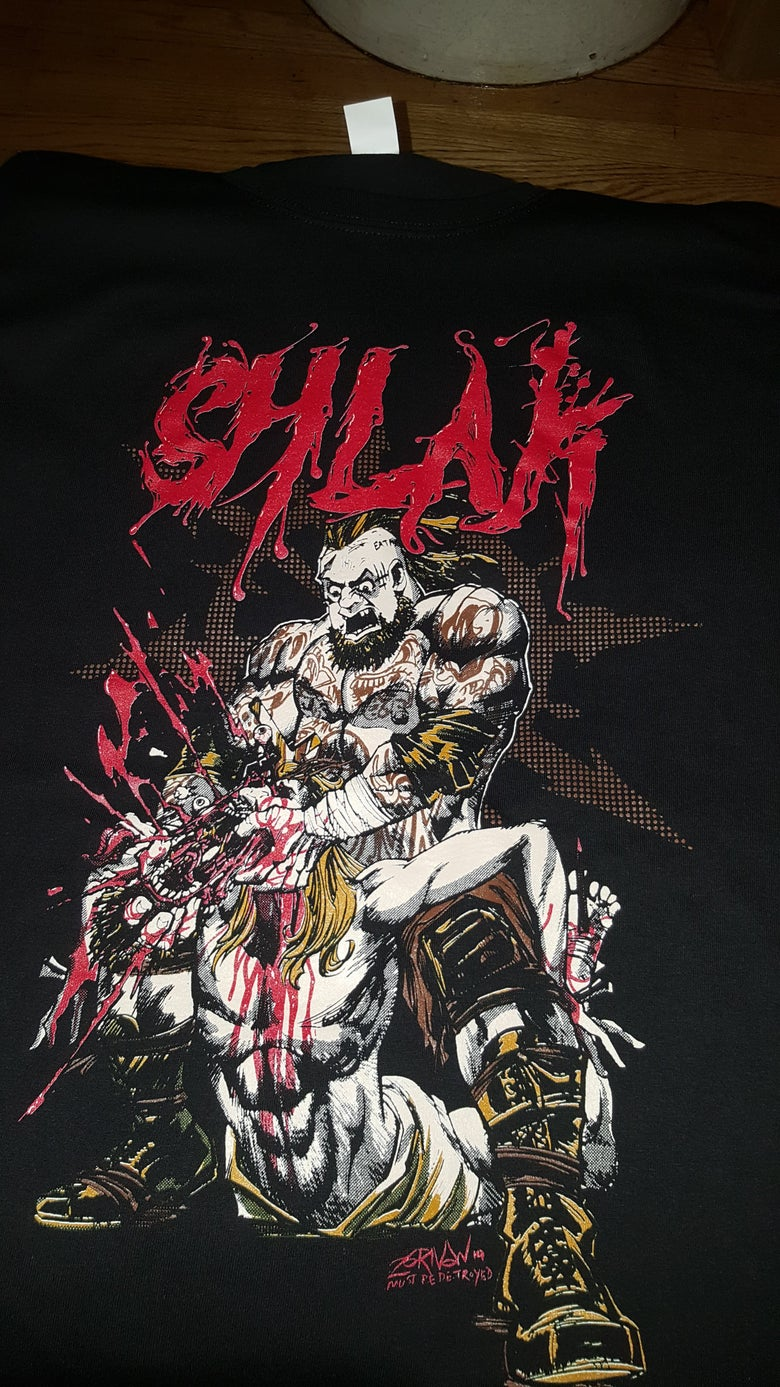 Image of EXCLUSIVE SHLAK - CHRIST KILLER T SHIRT (IN STOCK)