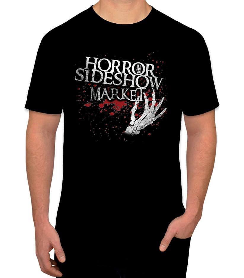 Horror Sideshow Market T-shirt