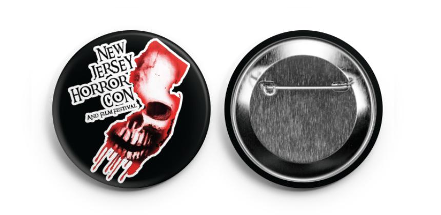 NJ Horror Con Logo Pin
